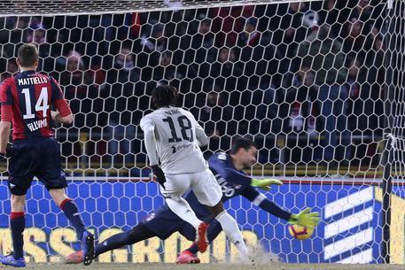 Il gol di Kean © ANSA