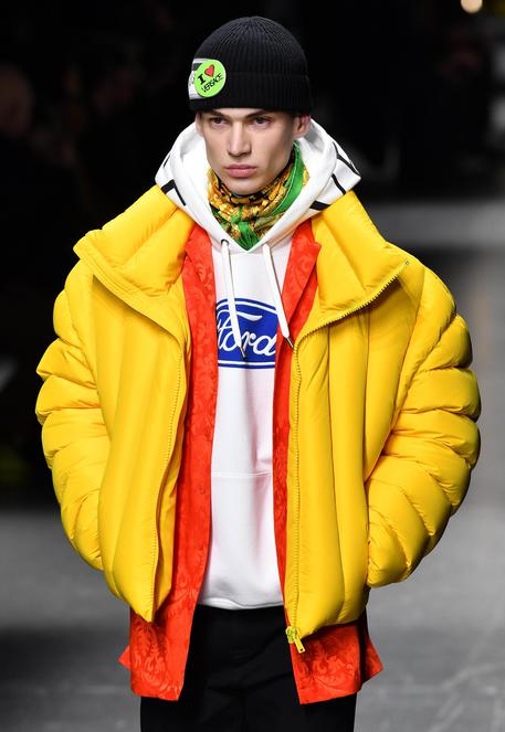 Fashion: Men's Fall/Winter 2019/20 collections; Versace © ANSA