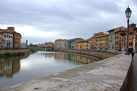 Pisa lungarni lungarno Arno © ANSA