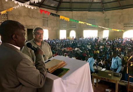 Cuffaro inaugura chiesa cattolica in Burundi$