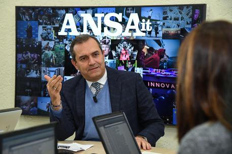 Forum ANSA con il sindaco di Napoli Luigi de Magistris © ANSA