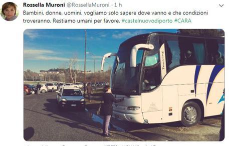 La foto pubblicata sul profilo Twitter di Rossella Muroni © ANSA