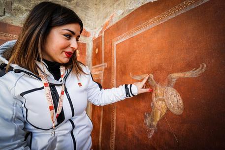 A Pompei torna la Schola Armaturarum © ANSA