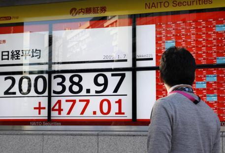 f4f10dfe4d Borsa: Tokyo, apertura in rialzo. Ottimismo su negoziati commercio Cina-Usa