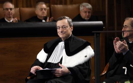 Draghi 'ottimista sul futuro dell'Ue, l'Euro un successo'