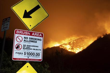Furioso incendio a Los Angeles Evacuate 100mila persone