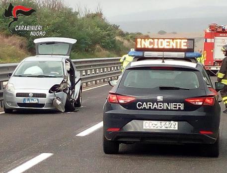 Incidenti stradali 2019, 650 nel Nuorese