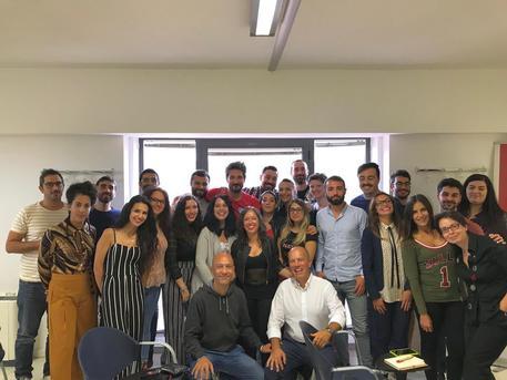 Pozzecco e Sardara, lezione a studenti