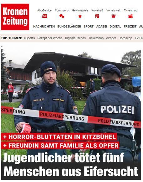 Tirolo, adolescente uccide fidanzata e 4 suoi familiari: la strage per gelosia
