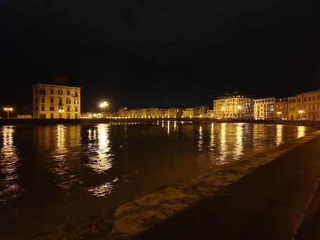 La piena a Pisa © ANSA