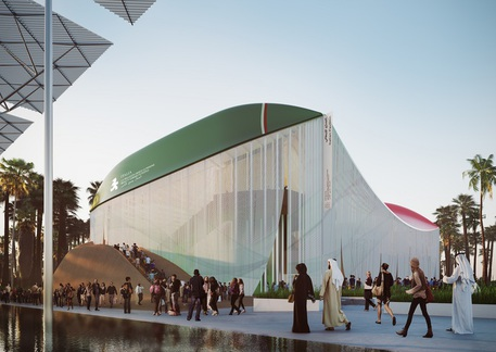 Dubai 2020 - Padiglione Italia © Ansa