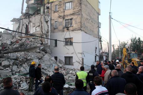 I danni del terremoto in Albania © EPA