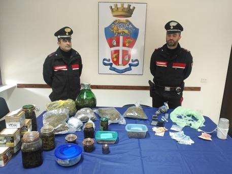 Blitz a Villacidro, sequestrati 2kg droga