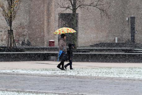 La neve a Parma © ANSA