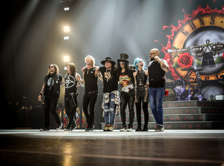 Guns N' Roses il 12 giugno a Firenze rocks