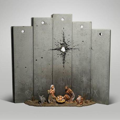 A Betlemme la 'cicatrice di Banksy