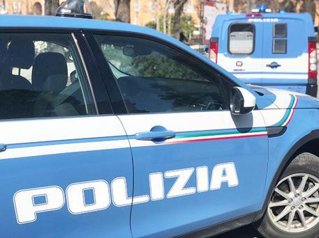 Una volante della polizia di Stato © ANSA