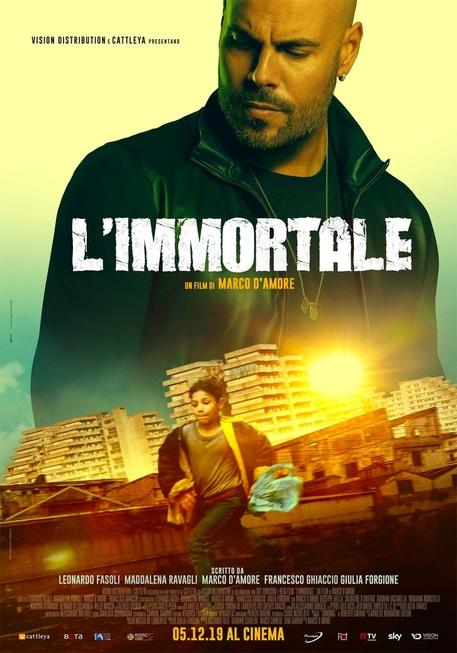 La locandina del film L'Immortale © ANSA