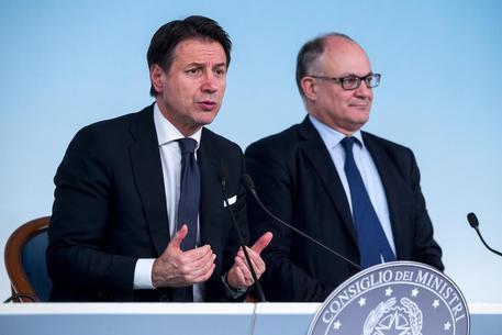 Conte in conferenza stampa © ANSA