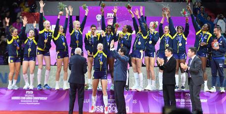 Pallavolo: Conegliano vince il mondiale club donne © ANSA
