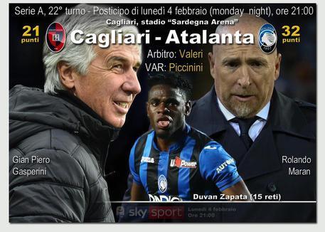 Atalanta inarrestabile: 1-0 Cagliari, decide Hateboer. Gasp a -1 dalla zona Champions