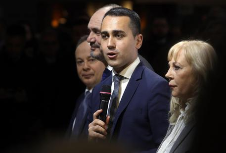 Italian Deputy Premier and Labour and Industry Minister Luigi Di Maio