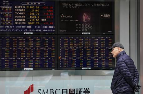 e7772d4338 Borsa: Tokyo, apertura in netto rialzo. Ottimismo su negoziati commercio  Cina-Usa a Washington