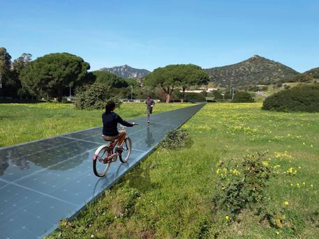 A Villasimius pista ciclopedonale solare