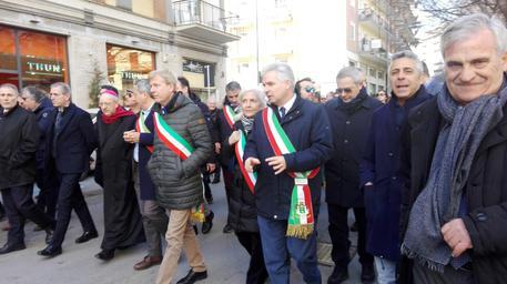 Marcia dei sindaci per completare la SS 640