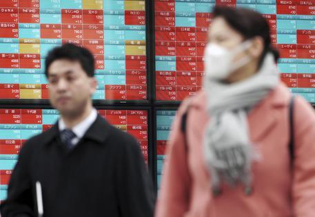 a18764e939 Borsa: Asia crolla su timori crescita - Economia - ANSA