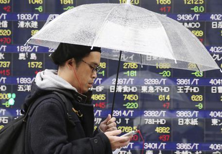 0de0a7e56a Borsa Tokyo apre in calo (-0,41%) - Ultima Ora - ANSA