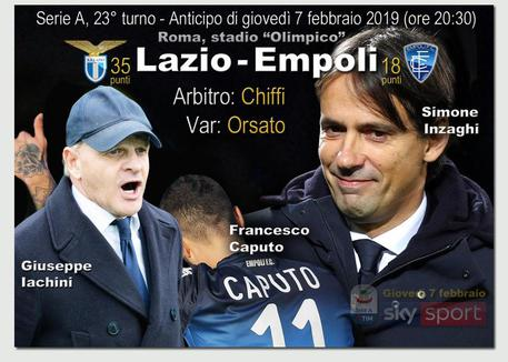 Lazio-Empoli, le formazioni ufficiali: Esordio per Romulo, Berisha dal 1′