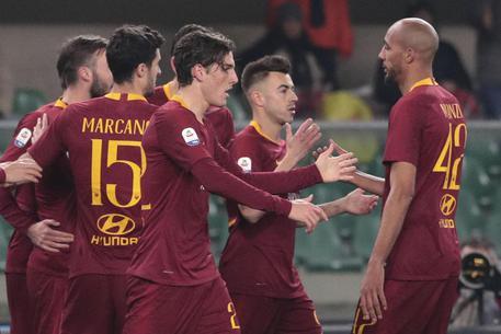 Chievo Roma 0-3, giallorossi quarti © ANSA