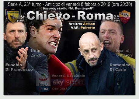 Chievo - Roma 0-1 LIVE - Serie A. La diretta della partita