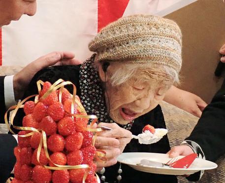 Donna più vecchia del mondo fa 117 anni