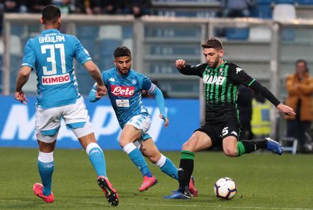 Sassuolo-Napoli 1-1, Juve a +18 B8f54a7dbeccbde1d37912757ccd34af