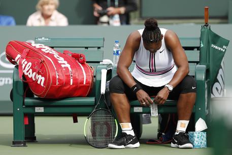 Indian Wells, si ritira Serena Williams$