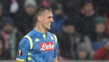 Napoli, Milik avvisa l'Arsenal: