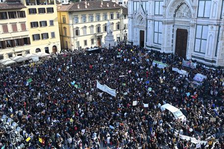 'Global climate strike' in Florence © ANSA