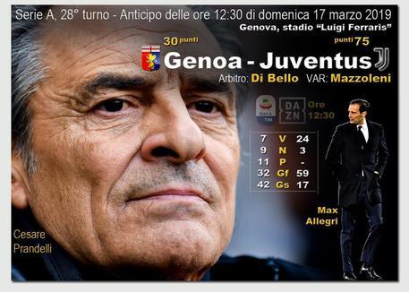 Genoa, Prandelli verso la Juve: