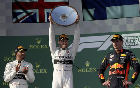 F1, Bottas domina in Australia$