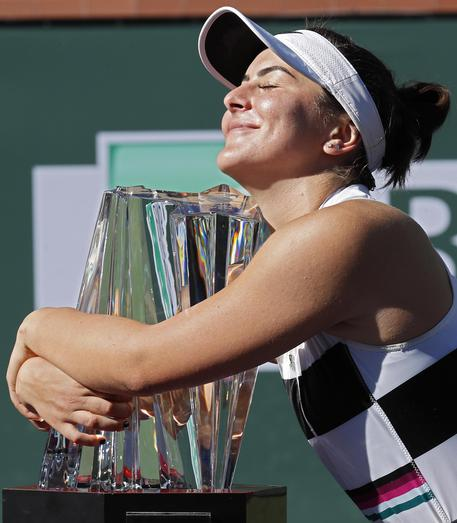 Bianca Andreescu vince WTA Indian Wells 2019