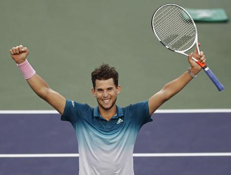Indian Wells, Thiem batte Federer e trionfa in finale$