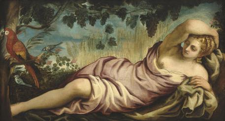 Mostra Tintoretto - Summer, c. 1555, oil on canvas, overall: 105.7 x 193 cm National Gallery of Art, Washington, D.C., © ANSA