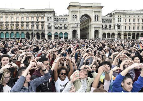 Milano: marcia antirazzista 'People, prima le persone'