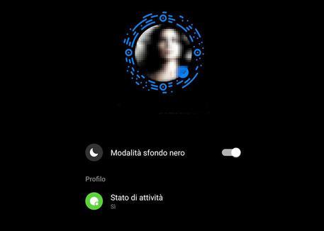 Il Dark Mode Arriva Sulla Chat Messenger Software E App Ansa