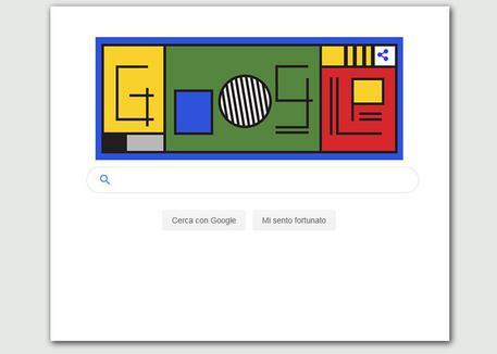 I 100 anni del Bauhaus e il doodle di Google