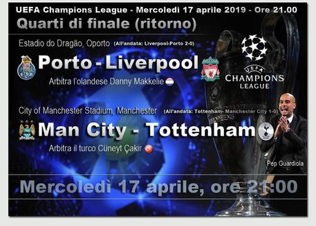 Champions League: Tottenham e Liverpool in semifinale, City eliminato dalla Var