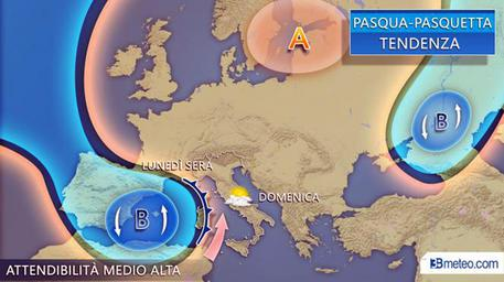 Meteo Pasquetta, le previsioni per oggi pomeriggio