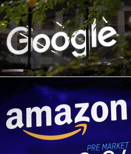 Amazon e Google © AP